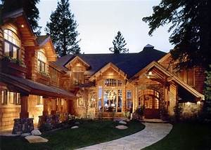 Interior: Great Image Of Log Cabin Homes Interior