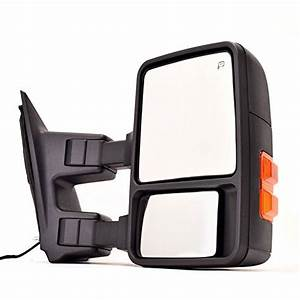 Dedc Ford Towing Mirror Right Passenger Side Mirror Power