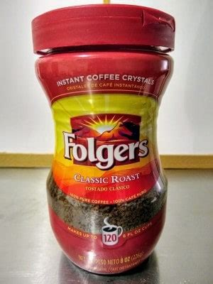 Instant folgers coffee is great for drinking but i prefer putting it in my oatmeal, preferably with some peanut butter and fresh fruits added.or, even taking a bit and packing it into my bottom lip. 7 Best Instant Coffee Brands for Camping in 2020 | 99Boulders