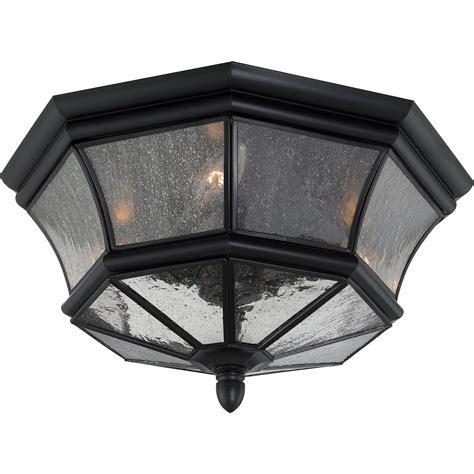 outdoor flush mount ceiling light fixtures quoizel ny1615k newbury traditional outdoor flush mount