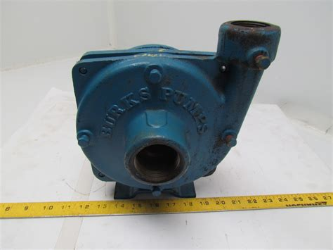 Burks Gna6-1-1/4-5.66 Base Mounted Centrifugal Pump Bronze