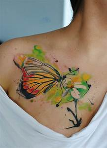 Watercolor tattoo butterfly by dopeindulgence ...