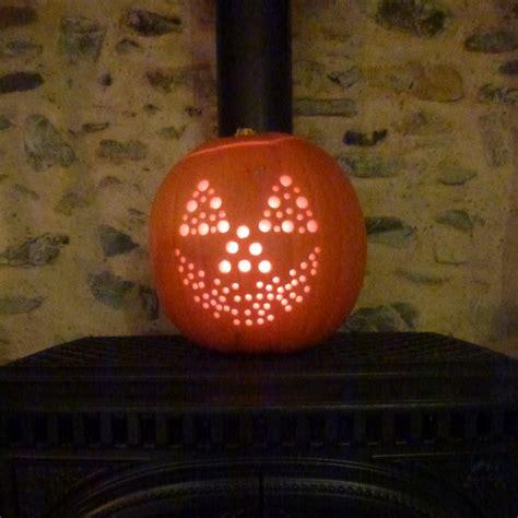 Pumpkin Carving Drill Patterns by Alternative Pumpkin Carving Tools Ecozee News