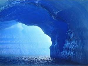 Blue Ice Cave | I Wonder if God is Real... | Pinterest