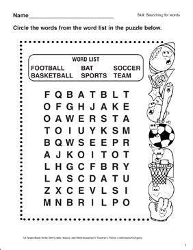 basketball word search  kids printable brackets