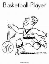 Basketball Player Coloring Worksheet Jugar Heat Sports Worksheets Sheet Hoop Players Gusta Baskeball Al Twistynoodle Nba Sport Star Pages Noodle sketch template