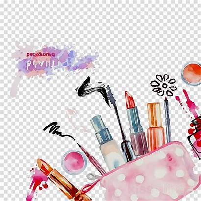 Makeup Clipart Transparent Cosmetics Brush Clip Nail