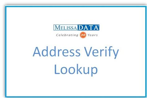 address verify lookup international address verification