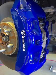 Svr Blue Custom Painted Brembo Brake Calipers