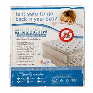 mattress pillow protectors by healthguard With bed bug barrier mattress cover