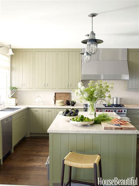green colored kitchens colored kitchen cabinets inspiration the inspired room 1359