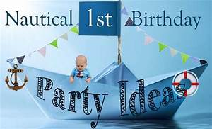Nautical 1st Birthday Party Ideas - Love and Duck FatLove
