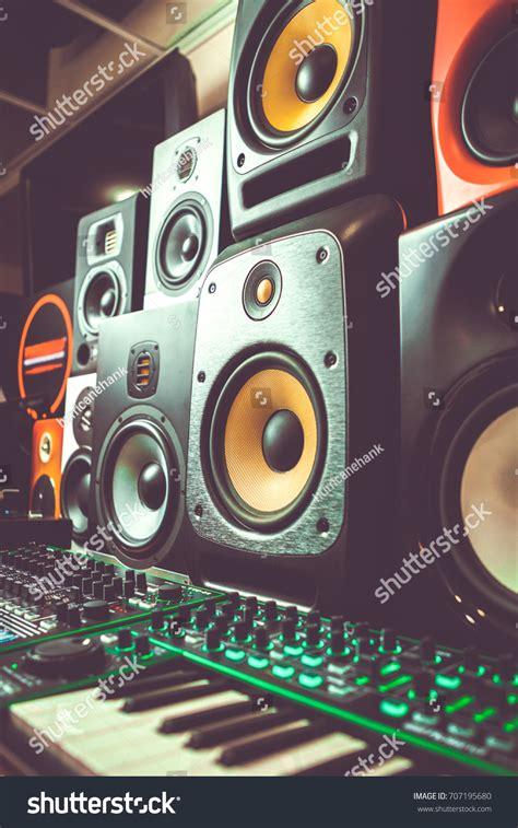 dj shop audio equipment high quality stock 707195680