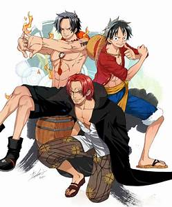 Red Hair Shanks images Shanks, Luffy and Ace HD wallpaper ...