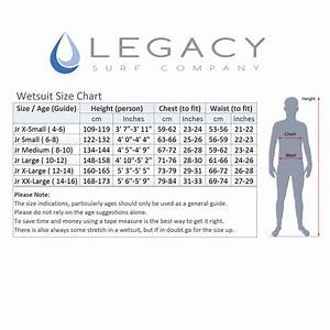 Childs Wetsuit Size Chart Legacy 3 2mm Childs Kids Junior Teenage Shortie Wetsuit