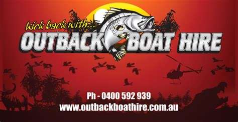 Fishing Boat Hire Darwin by Outback Boat Hire Darwin Boat Hire