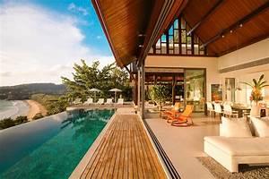 Amazing, Modern, Luxury, Villa, On, Naithon, Beach