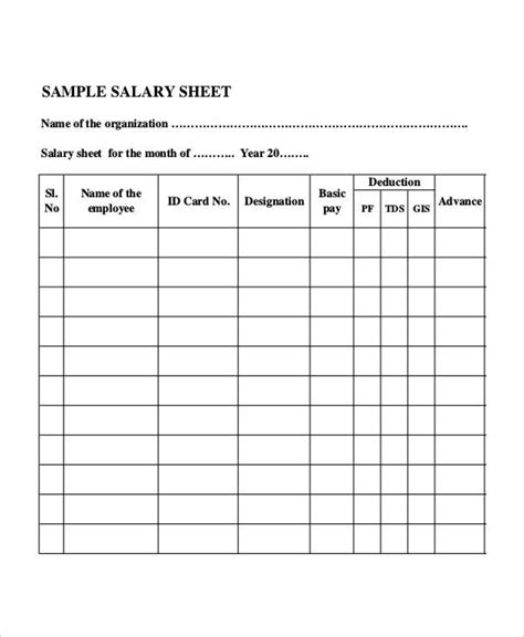 monthly sheet templates word   premium