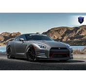 Nissan GT R Hits The Outdoors With Matte Black Rohana