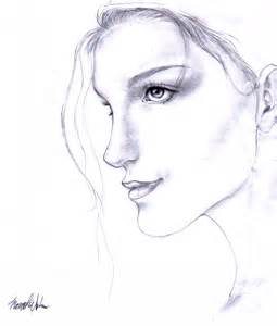 Happy Girl Drawing