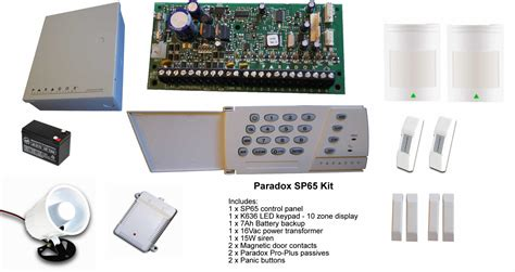 buy online and save diy quality products paradox alarm systems alarm system kits sp65 kit