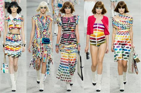 Rainbow Fashion Trend  Paris Fashion Week  Write In Color