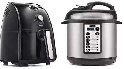 cooker pressure fryer air bella qt rebates lb regular kohls requested smoking deals items most