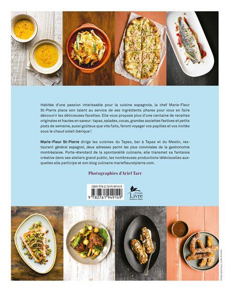 livre cuisine homme livre cuisine espagnole de fleur les éditions de l