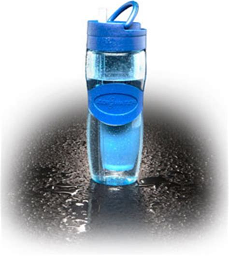 zero water pitcher zerowater zb 030 travel bottle filter 28 ounce trendy