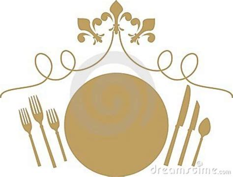 formal dining clipart