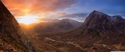 Sunrise 3440 1440 Highland Wallpapers Wide Uhd