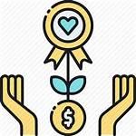 Crowdfunding Icon Donation Based Charity Crowdfund Donate