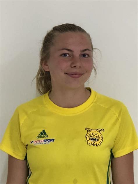 Pinja Peuramäki uutena tulokkaana Ilveksen riveihin. - Ilves Futsal naiset