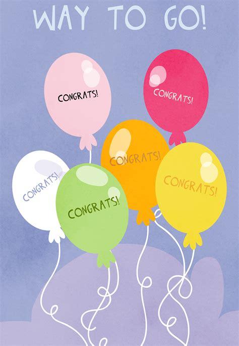 Free Congratulations Card Template