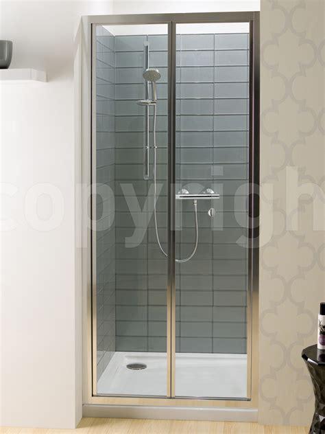 simpsons edge bi fold shower door mm