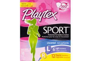 playtex sport light tons 078300083993 upc playtex sport multi pack light regular