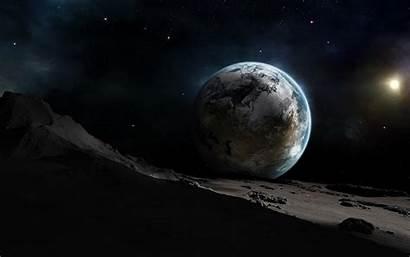 Earth Moon 3d Cool Moons Space Desktop