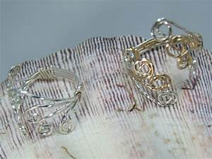 Adjustable wire wrapped ring LE Creations, Handmade - Rings