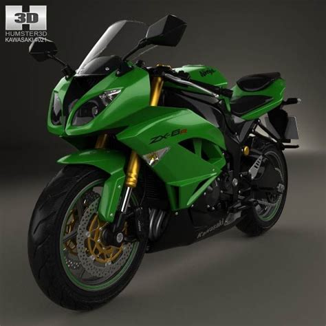 Kawasaki Zx6r Price by Kawasaki Zx 6r 2014 3d Model From Humster3d Price