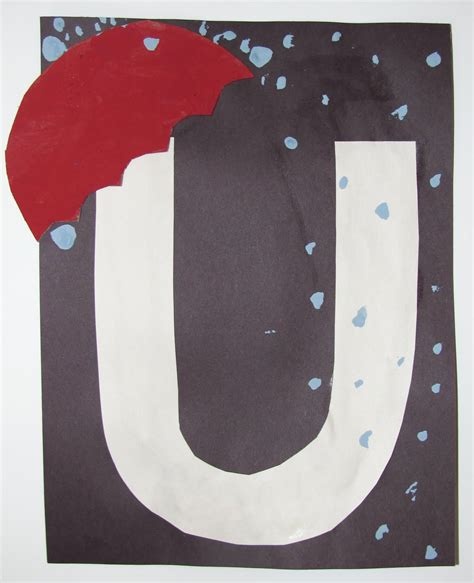 letter u crafts preschool and kindergarten 314   letter u craft