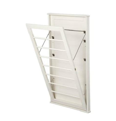 wall mounted drying rack laundry room space saving wall mount clothes clothing