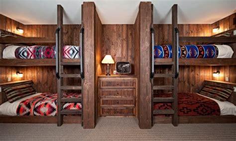 bunk beds built wall cabin built bunk bed cabin bed designs treesranchcom