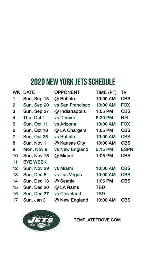 york jets lock screen schedule  iphone