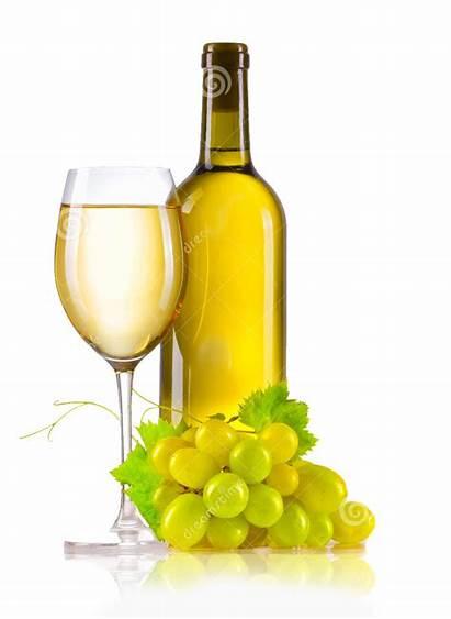 Wine Bottle Glass Grapes Vino Vin Bianco