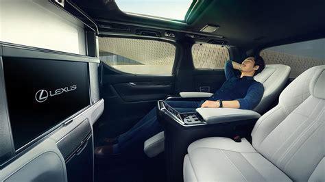 introducing  lexus lm luxury minivan lexus enthusiast
