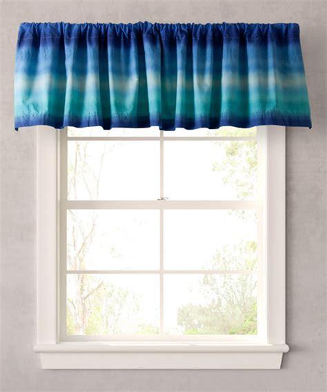 blue electric window valance modern valances