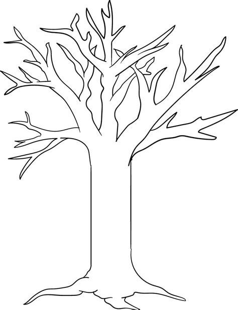 tree branches  printable pattern printableecom