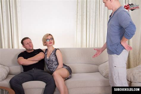 submissive cuckolds presents: mature wife and her hubby cuckold