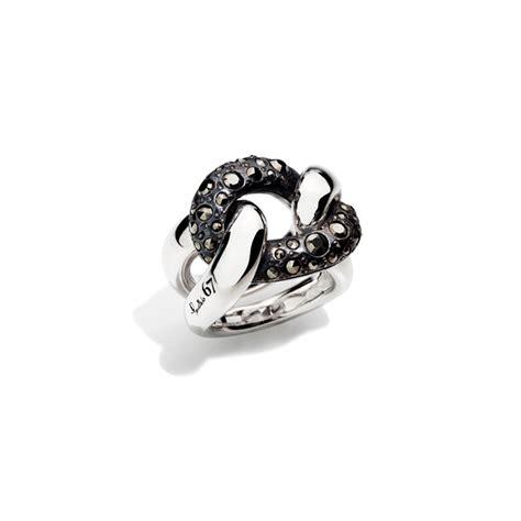 anelli pomellato 67 pomellato pomellato 67 anello gourmette argento