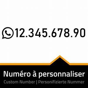 Numéro De Téléphone De Mister Auto : sticker whatsapp num ro de t l phone personnaliser personnalisation autocollant whatsapp ~ Maxctalentgroup.com Avis de Voitures